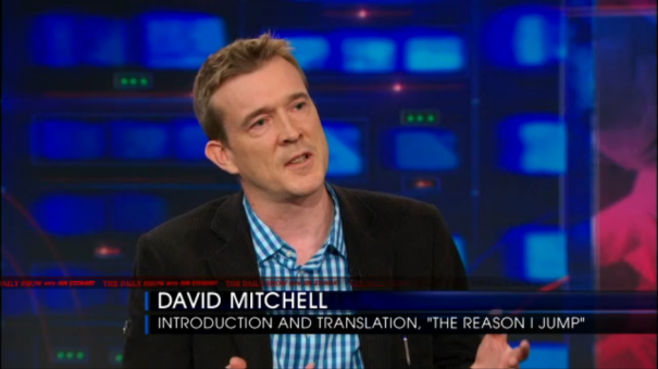 David Mitchell discusses The Reason I Jump on the October 2nd 2013 episode of The Daily Show.