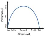Stress Level vs Performance