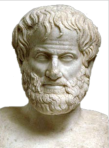 Aristotle. Ever notice how all ancient Greeks have that same creepy blank stare? [pic: Wikipedia, CC]